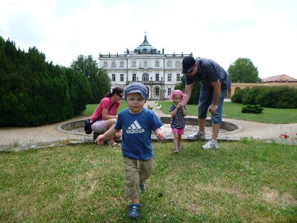 Zámecká zahrada v Ploskovicích