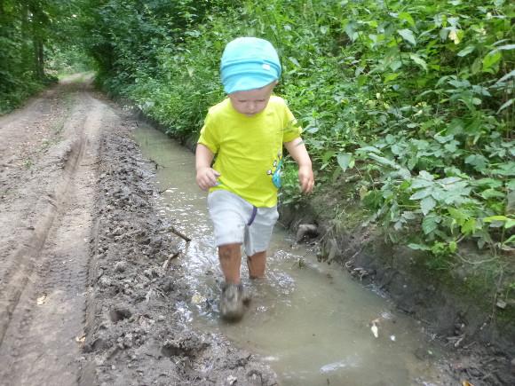 Všude sucho a on mokrý!