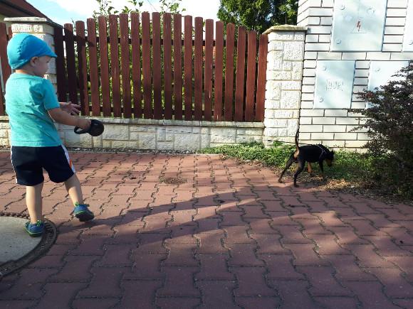 Vysmátý psovod