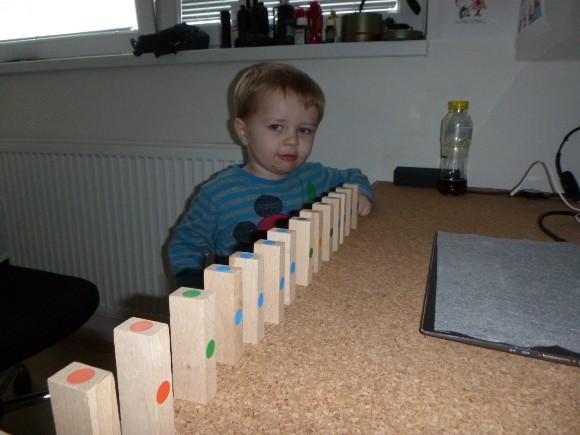 Domino klouček