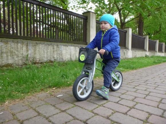 Jezdec má nový stroj
