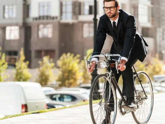 Nečekaný cyklista