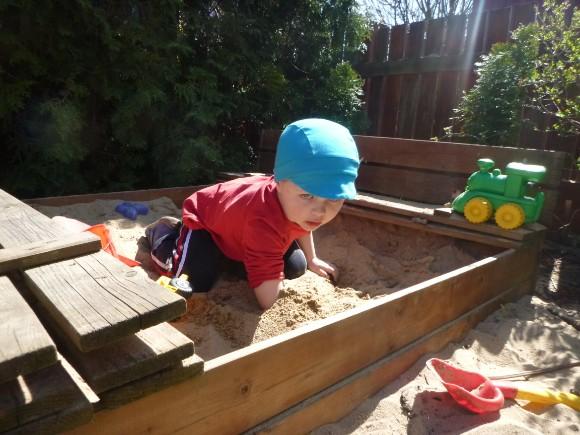Zahradník, co splnil úkol