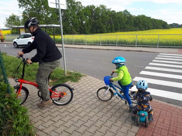Tátovo nové kolo