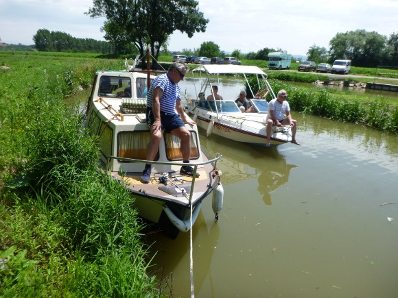 Potápěči na řece Moravě 2020